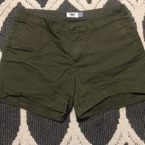 Navy Green Shorts!